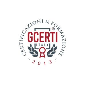 GCERTI ITALY s.r.l. attesta che l'organizzazione: