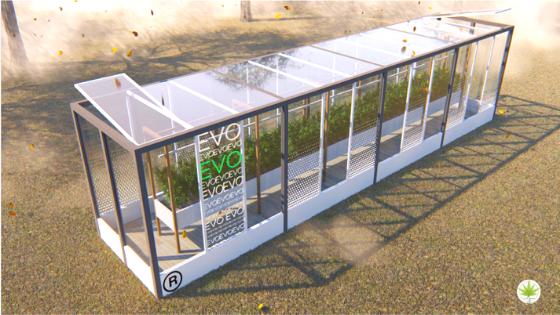 Evo Greenhouse: serre automatizzate per la coltivazione indoor